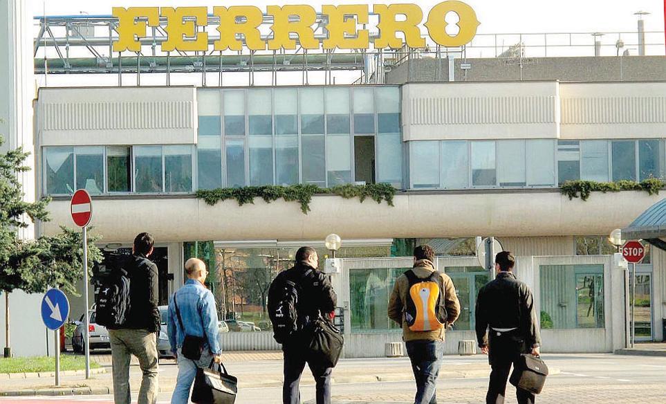 Ferrero: nuove opportunità di lavoro